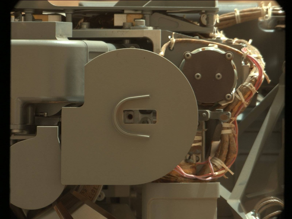 NASA's Mars rover Curiosity acquired this image using its Mast Camera (Mastcam) on Sol 81