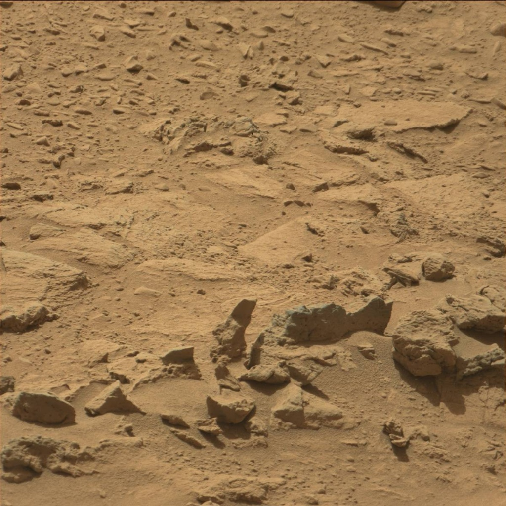 NASA's Mars rover Curiosity acquired this image using its Mast Camera (Mastcam) on Sol 82