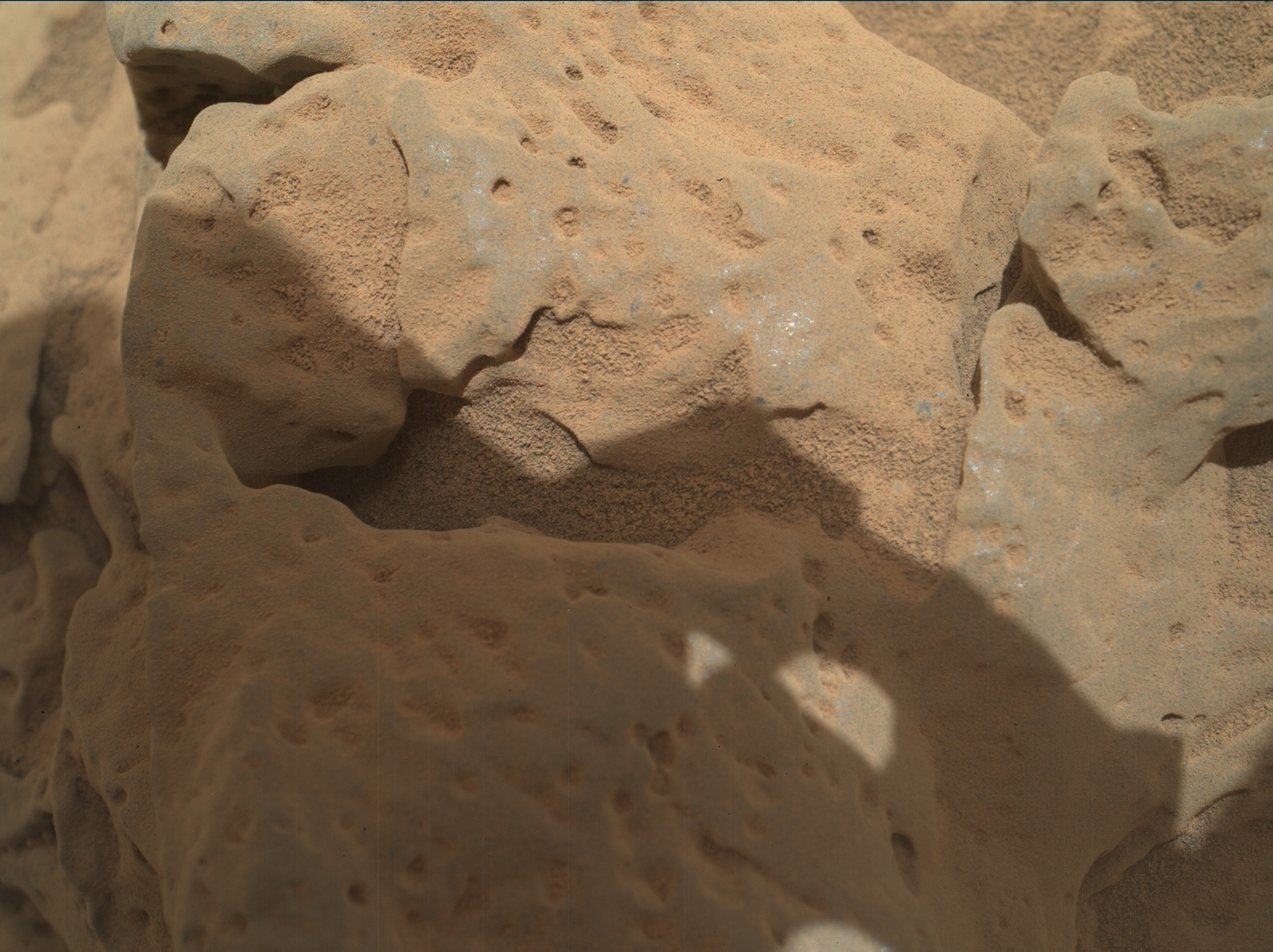 Nasa's Mars rover Curiosity acquired this image using its Mars Hand Lens Imager (MAHLI) on Sol 82