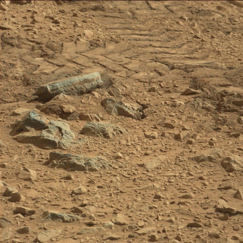 NASA's Mars rover Curiosity acquired this image using its Mast Camera (Mastcam) on Sol 89