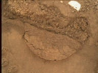 NASA's Mars rover Curiosity acquired this image using its Mars Hand Lens Imager (MAHLI) on Sol 89