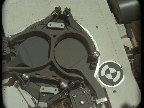 Curiosity sol 90 SAM