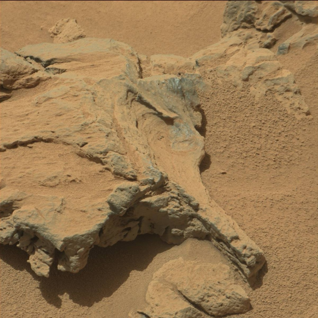 NASA's Mars rover Curiosity acquired this image using its Mast Camera (Mastcam) on Sol 90