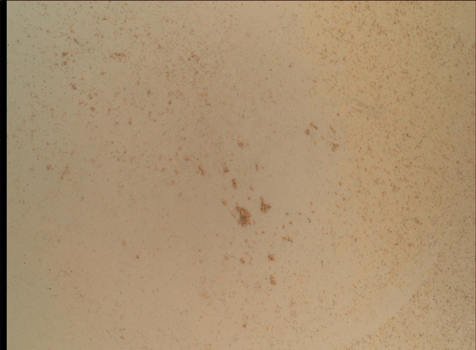 Nasa's Mars rover Curiosity acquired this image using its Mars Hand Lens Imager (MAHLI) on Sol 93