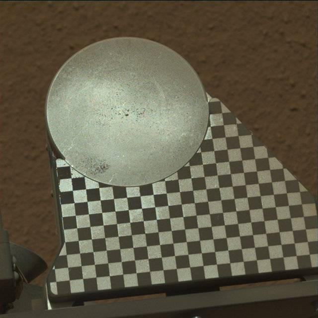 NASA's Mars rover Curiosity acquired this image using its Mast Camera (Mastcam) on Sol 95