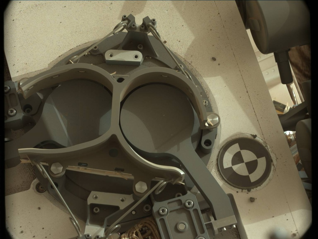 NASA's Mars rover Curiosity acquired this image using its Mast Camera (Mastcam) on Sol 98