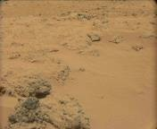 NASA's Mars rover Curiosity acquired this image using its Mast Camera (Mastcam) on Sol 100
