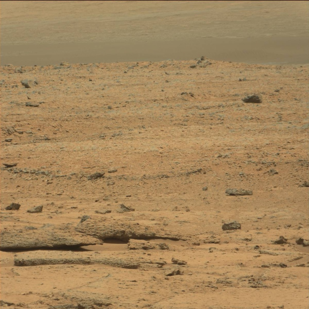 NASA's Mars rover Curiosity acquired this image using its Mast Camera (Mastcam) on Sol 101