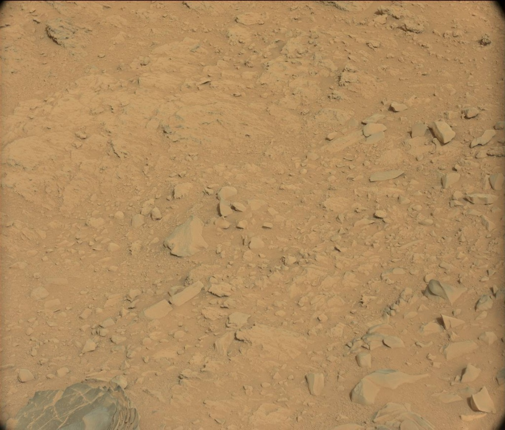 NASA's Mars rover Curiosity acquired this image using its Mast Camera (Mastcam) on Sol 106