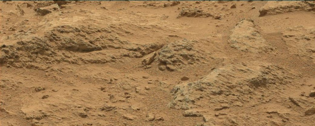 NASA's Mars rover Curiosity acquired this image using its Mast Camera (Mastcam) on Sol 107