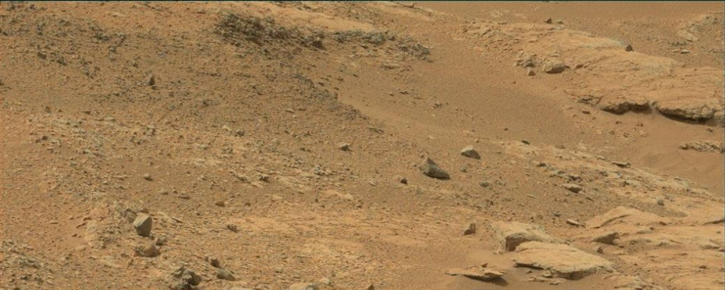 NASA's Mars rover Curiosity acquired this image using its Mast Camera (Mastcam) on Sol 108