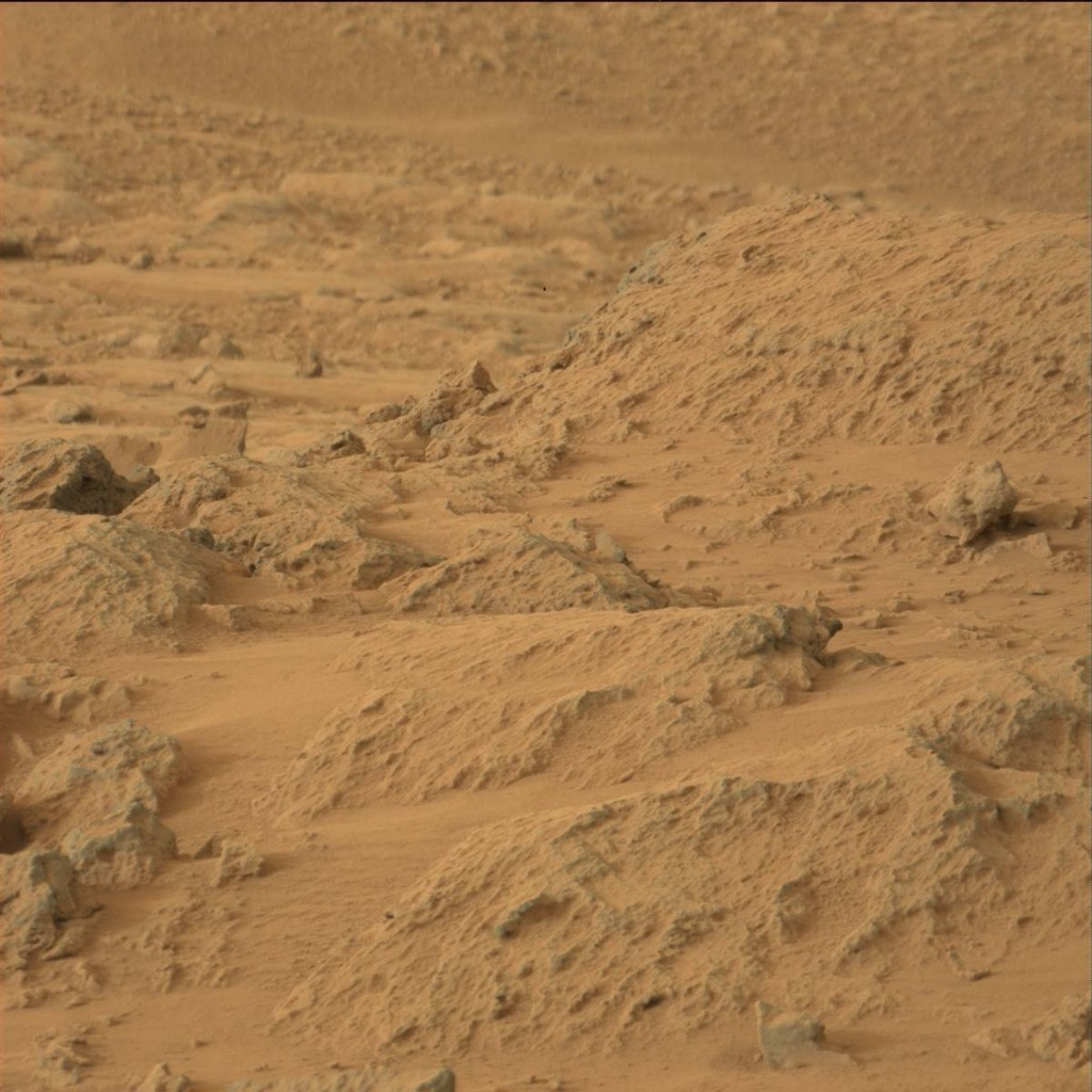 NASA's Mars rover Curiosity acquired this image using its Mast Camera (Mastcam) on Sol 109