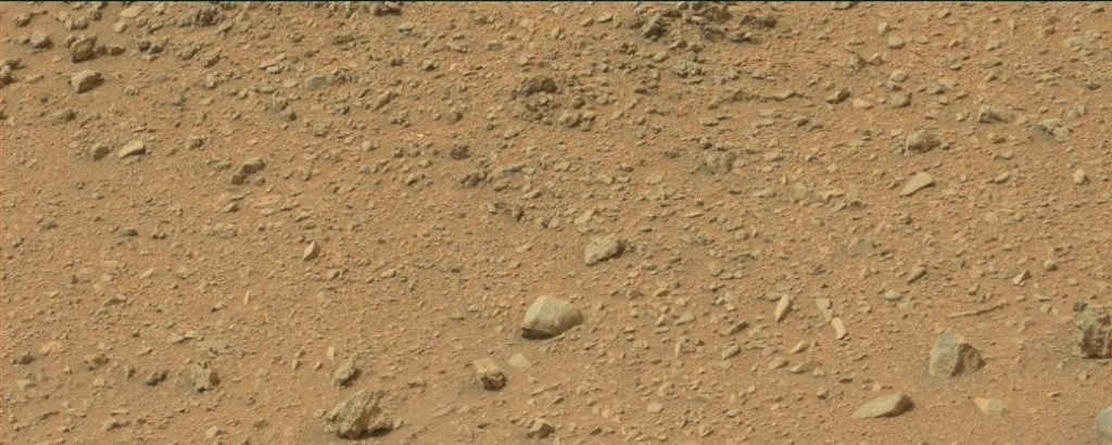 NASA's Mars rover Curiosity acquired this image using its Mast Camera (Mastcam) on Sol 110