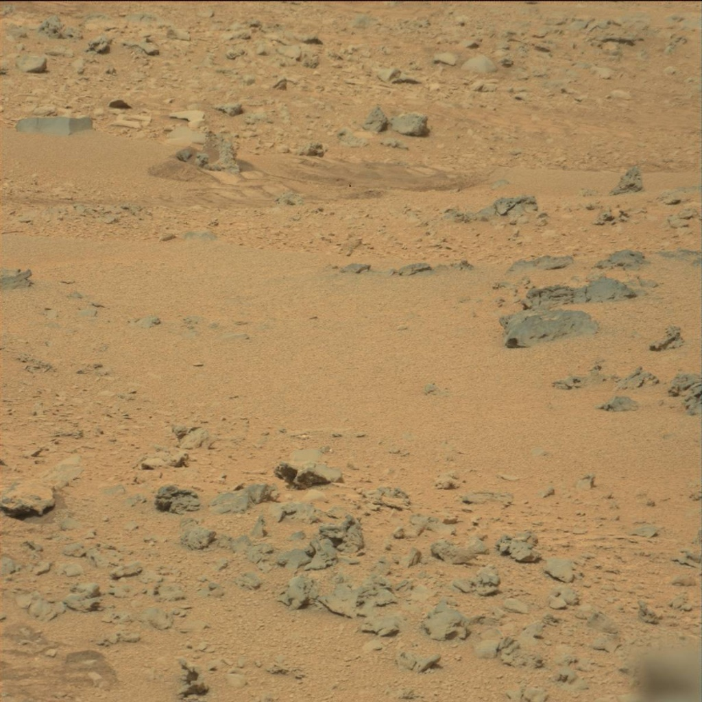 NASA's Mars rover Curiosity acquired this image using its Mast Camera (Mastcam) on Sol 111