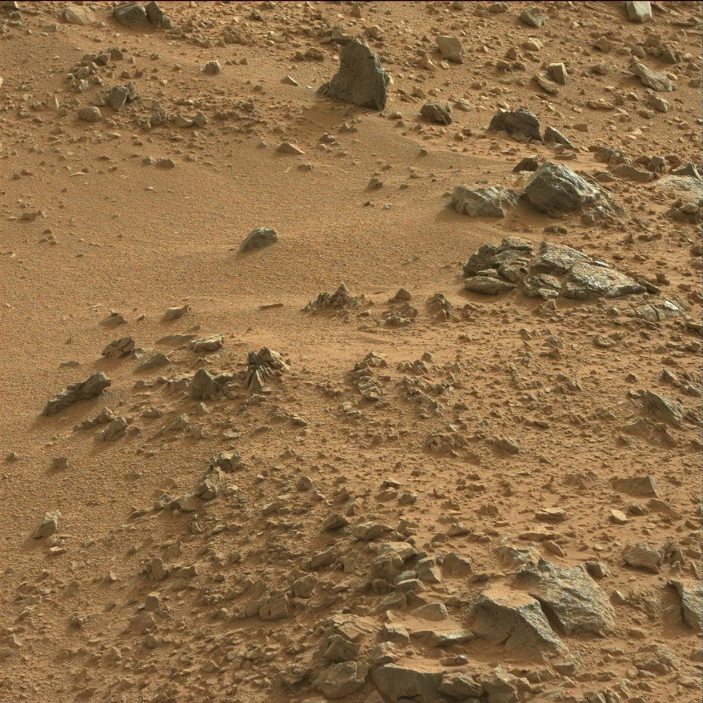 NASA's Mars rover Curiosity acquired this image using its Mast Camera (Mastcam) on Sol 118