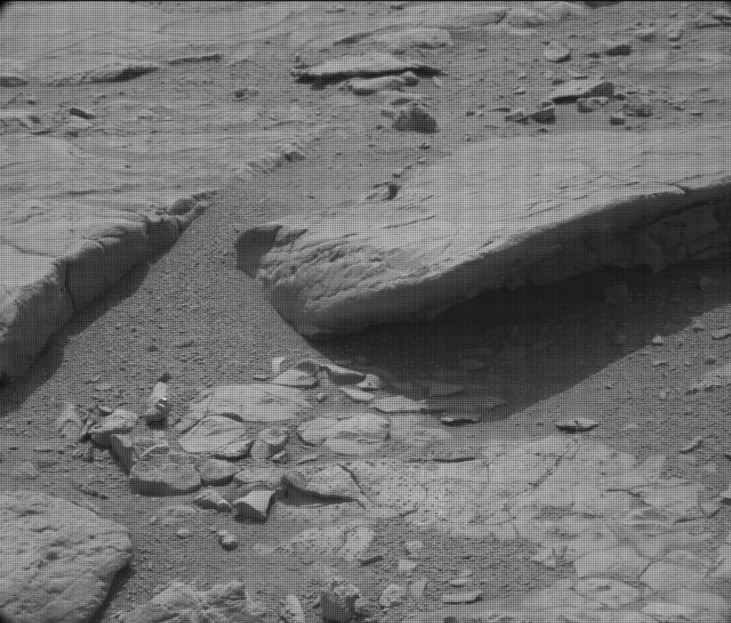 NASA's Mars rover Curiosity acquired this image using its Mast Camera (Mastcam) on Sol 126