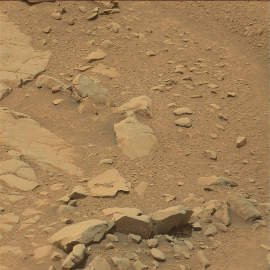 NASA's Mars rover Curiosity acquired this image using its Mast Camera (Mastcam) on Sol 127