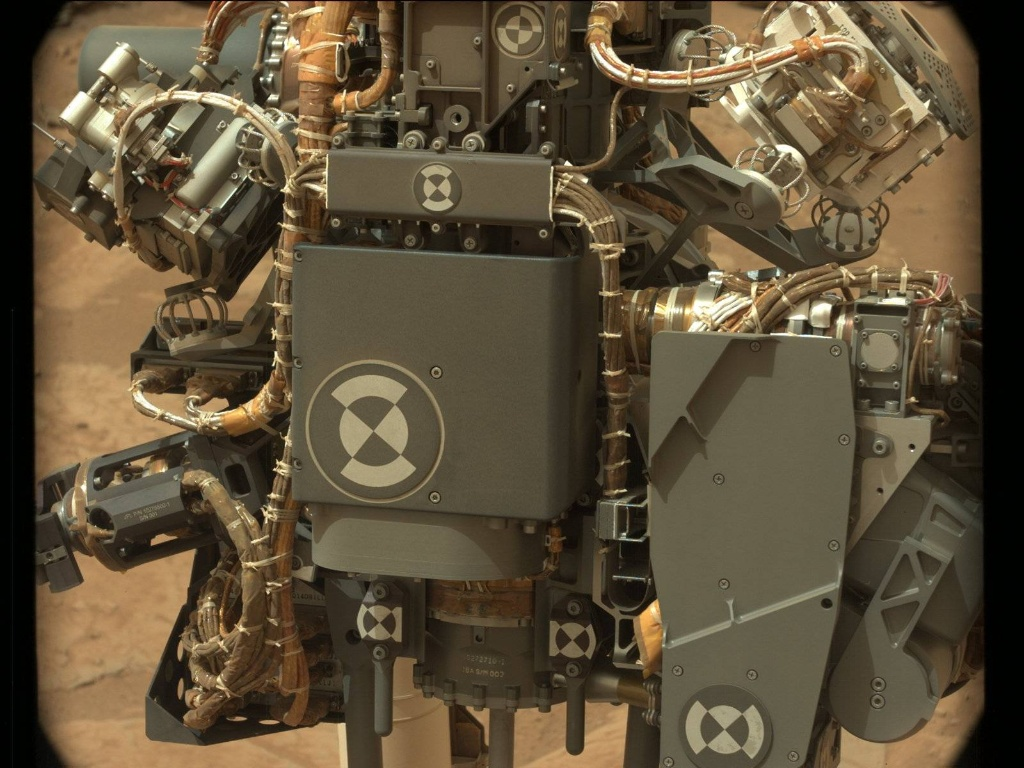 NASA's Mars rover Curiosity acquired this image using its Mast Camera (Mastcam) on Sol 128