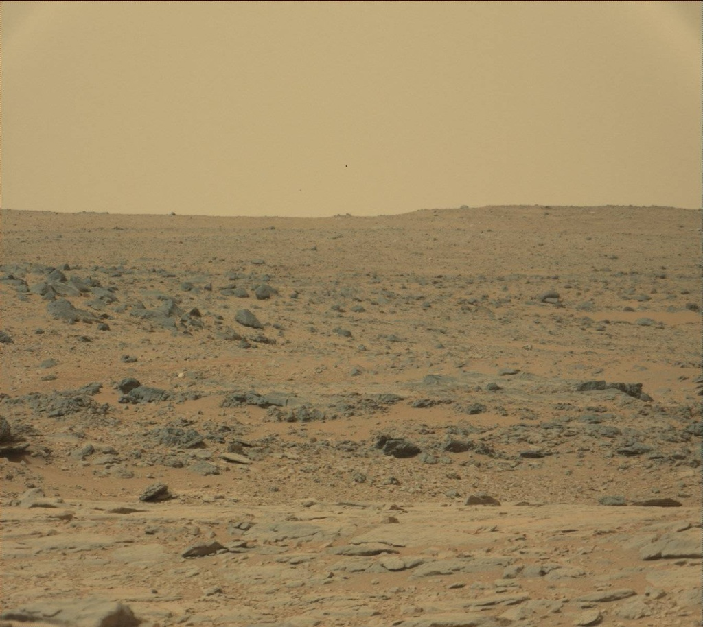 NASA's Mars rover Curiosity acquired this image using its Mast Camera (Mastcam) on Sol 136