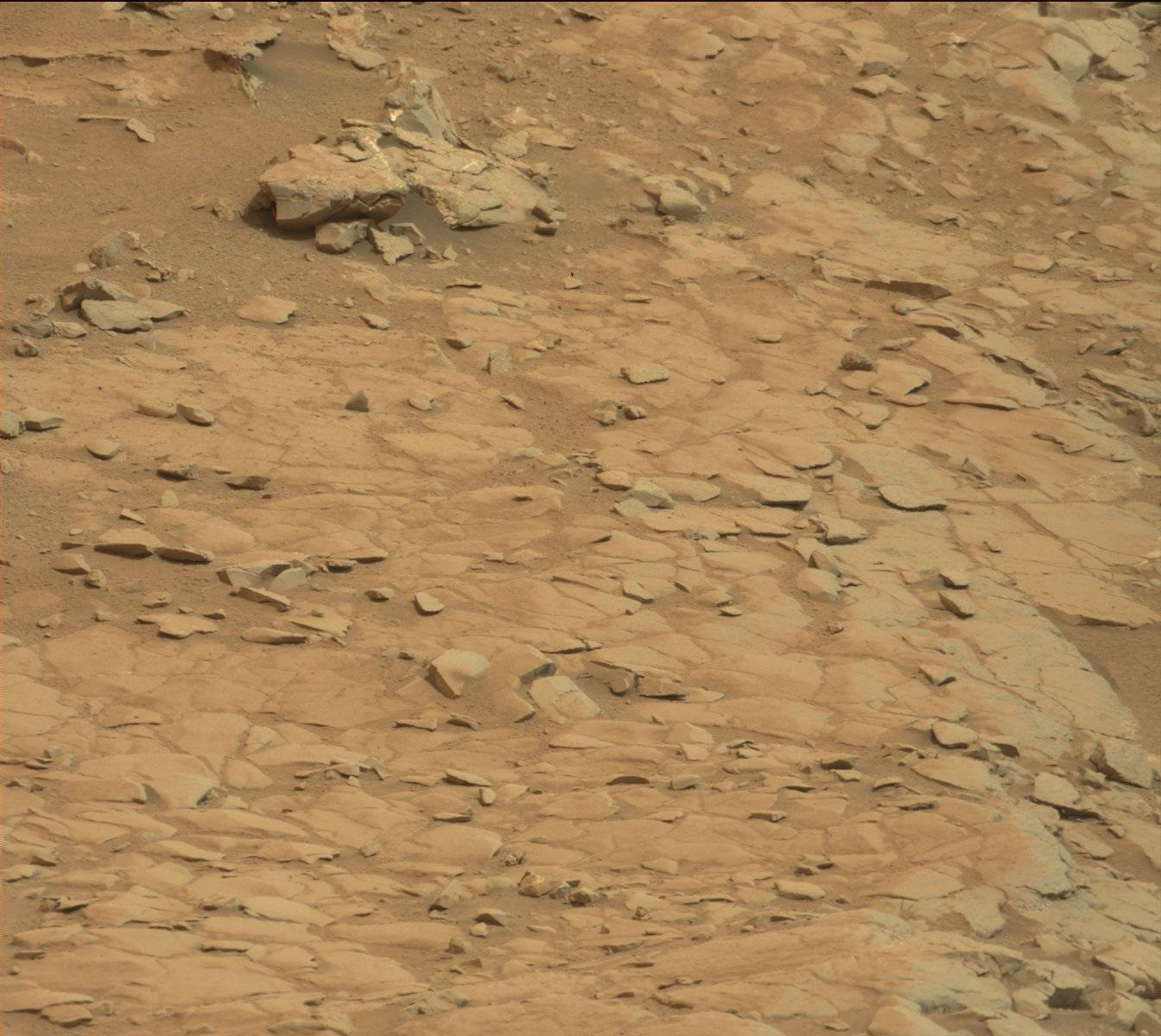 Nasa s mars rover curiosity acquired this image using its mast camera