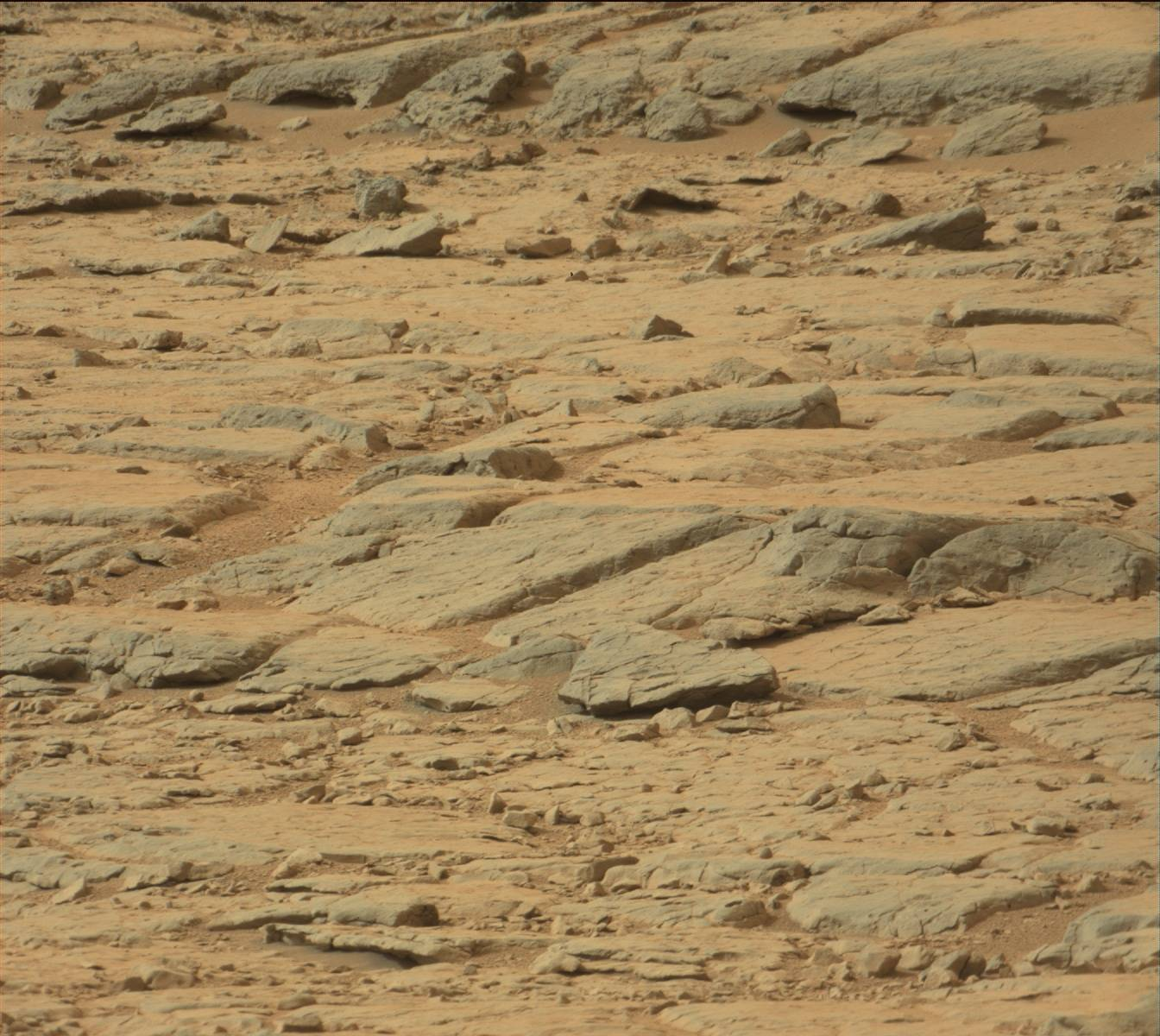 Curiosity at Glenelg: Just a Bizarre Landscape or ...