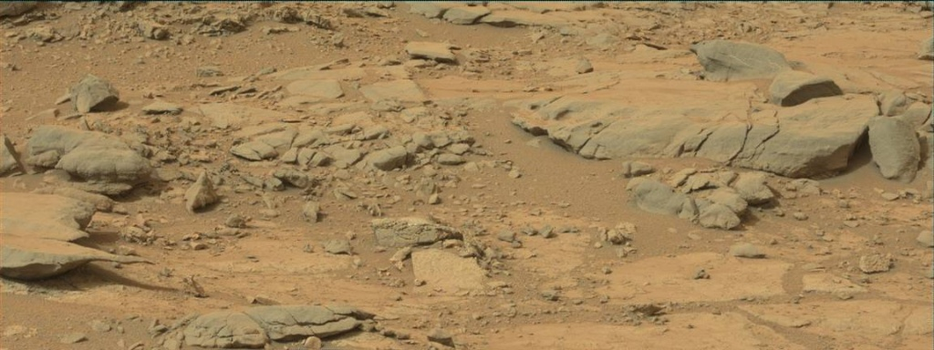 NASA's Mars rover Curiosity acquired this image using its Mast Camera (Mastcam) on Sol 138