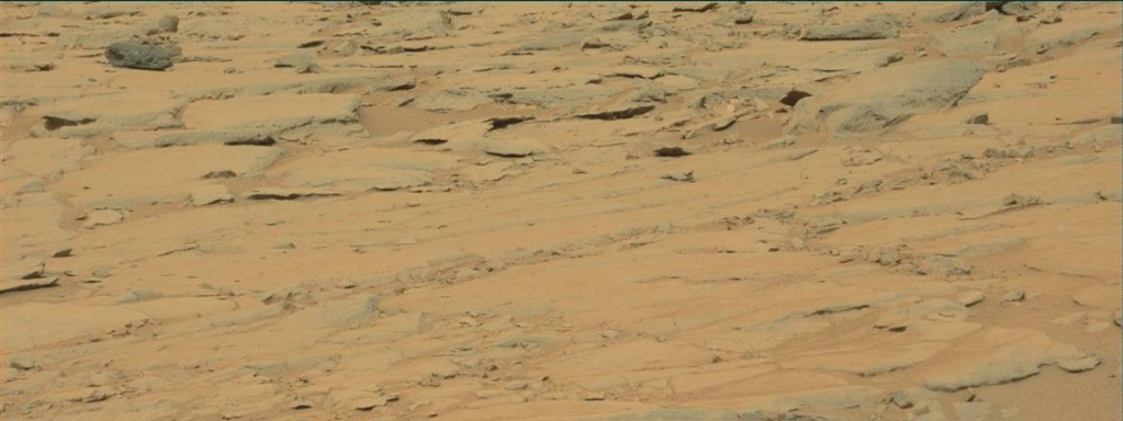 NASA's Mars rover Curiosity acquired this image using its Mast Camera (Mastcam) on Sol 141