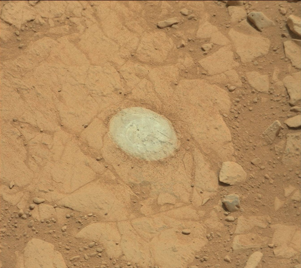 NASA's Mars rover Curiosity acquired this image using its Mast Camera (Mastcam) on Sol 150