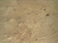 NASA's Mars rover Curiosity acquired this image using its Mars Hand Lens Imager (MAHLI) on Sol 150