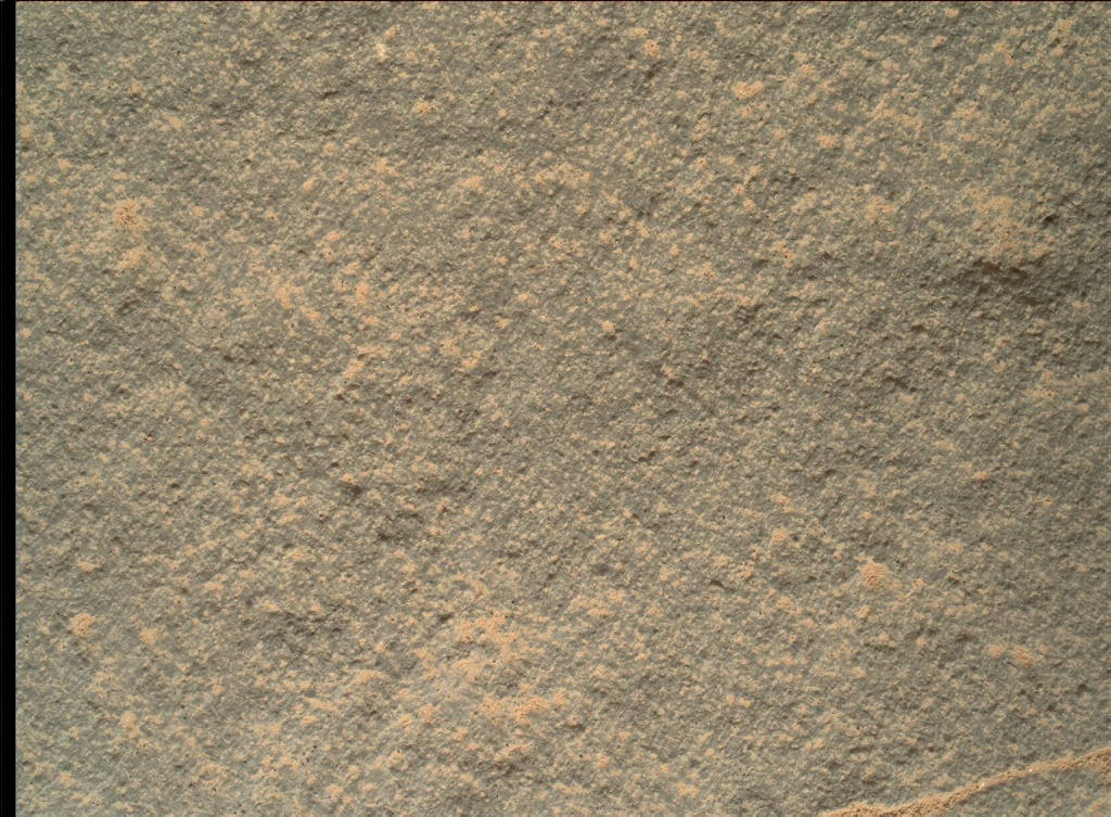 NASA's Mars rover Curiosity acquired this image using its Mars Hand Lens Imager (MAHLI) on Sol 154
