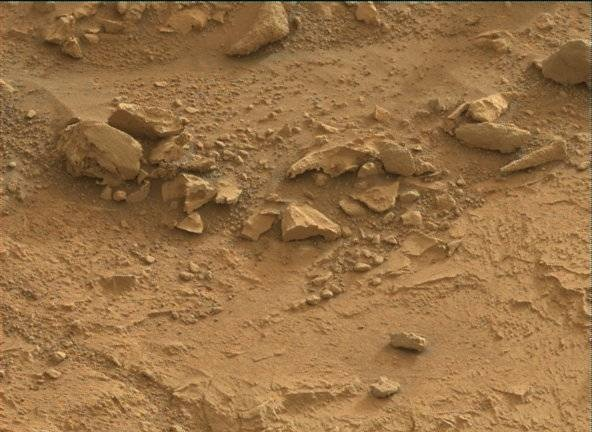 NASA's Mars rover Curiosity acquired this image using its Mast Camera (Mastcam) on Sol 173