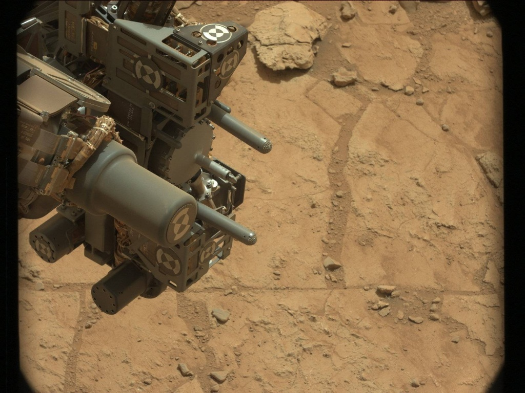 NASA's Mars rover Curiosity acquired this image using its Mast Camera (Mastcam) on Sol 178