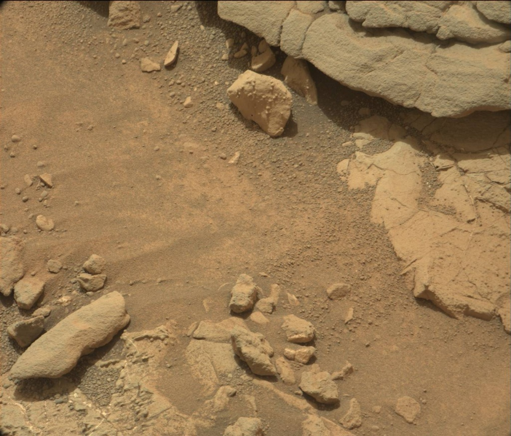NASA's Mars rover Curiosity acquired this image using its Mast Camera (Mastcam) on Sol 179