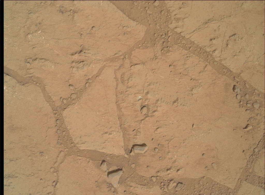 NASA's Mars rover Curiosity acquired this image using its Mars Hand Lens Imager (MAHLI) on Sol 179