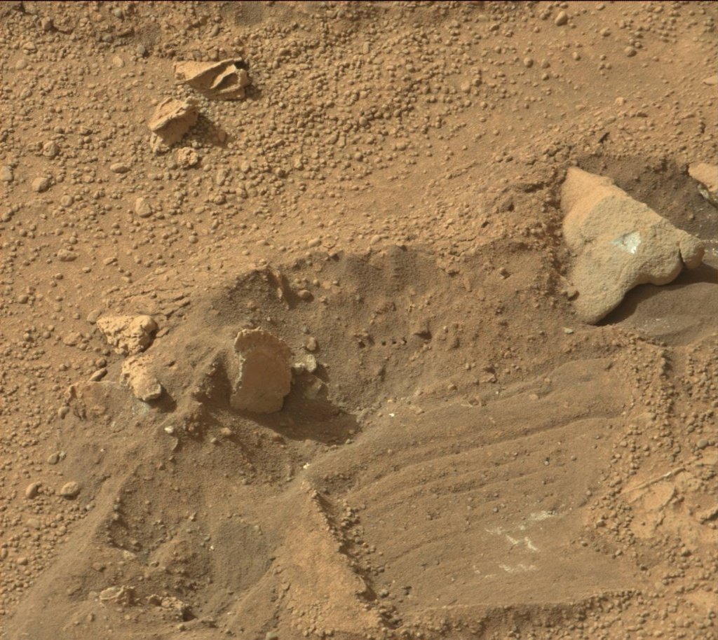 NASA's Mars rover Curiosity acquired this image using its Mast Camera (Mastcam) on Sol 199