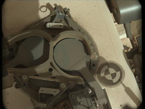 Curiosity sol 227 SAM