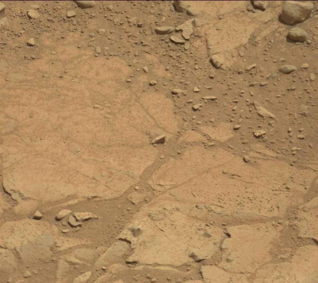 NASA's Mars rover Curiosity acquired this image using its Mast Camera (Mastcam) on Sol 233