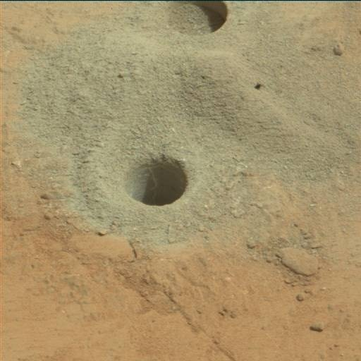 NASA's Mars rover Curiosity acquired this image using its Mast Camera (Mastcam) on Sol 267