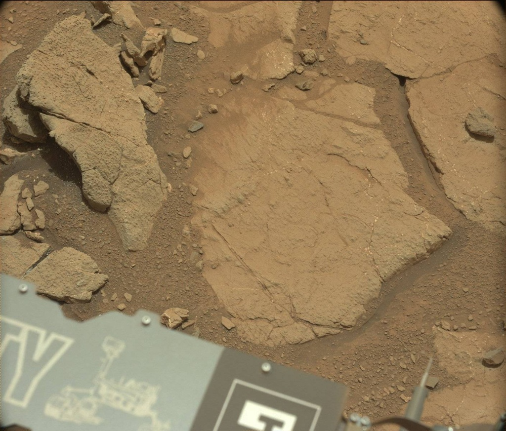 NASA's Mars rover Curiosity acquired this image using its Mast Camera (Mastcam) on Sol 272