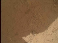 NASA's Mars rover Curiosity acquired this image using its Mars Hand Lens Imager (MAHLI) on Sol 276