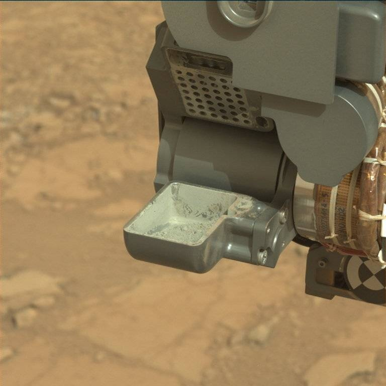 NASA's Mars rover Curiosity acquired this image using its Mast Camera (Mastcam) on Sol 279