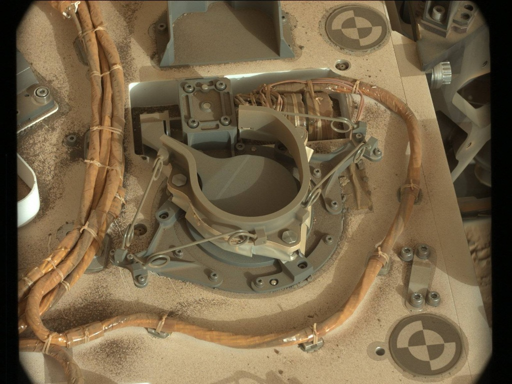 NASA's Mars rover Curiosity acquired this image using its Mast Camera (Mastcam) on Sol 282