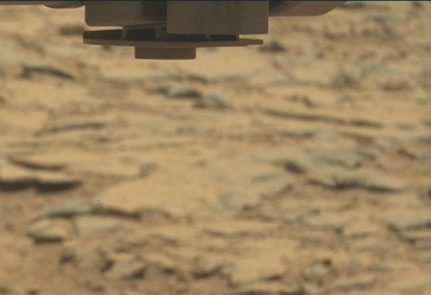 NASA's Mars rover Curiosity acquired this image using its Mast Camera (Mastcam) on Sol 284