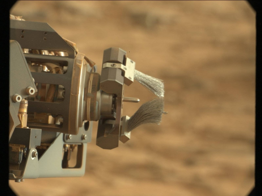 NASA's Mars rover Curiosity acquired this image using its Mast Camera (Mastcam) on Sol 291