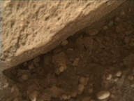 NASA's Mars rover Curiosity acquired this image using its Mars Hand Lens Imager (MAHLI) on Sol 291