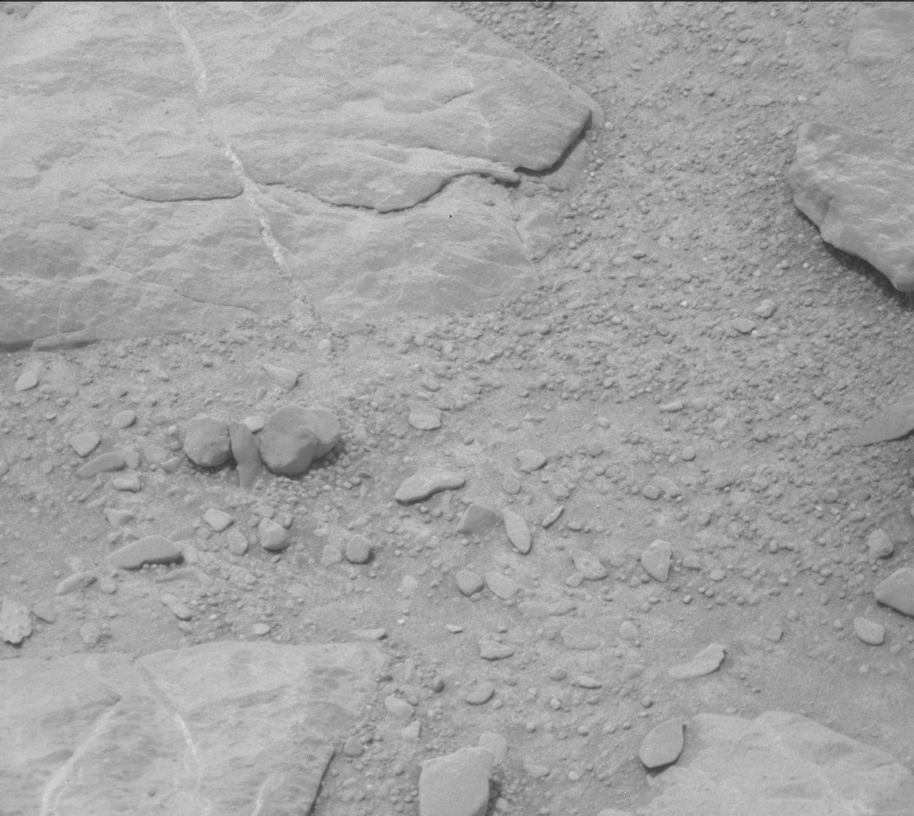 NASA's Mars rover Curiosity acquired this image using its Mast Camera (Mastcam) on Sol 297