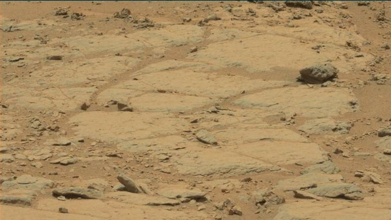 NASA's Mars rover Curiosity acquired this image using its Mast Camera (Mastcam) on Sol 300