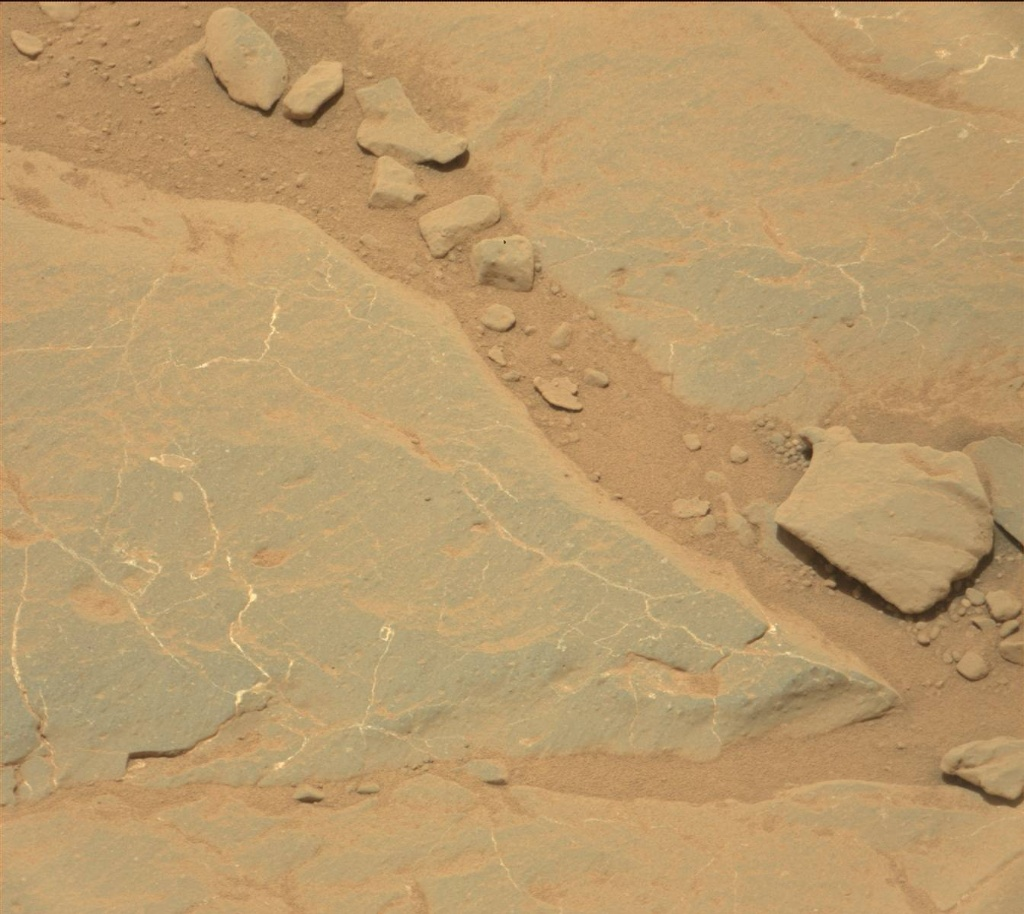 NASA's Mars rover Curiosity acquired this image using its Mast Camera (Mastcam) on Sol 301
