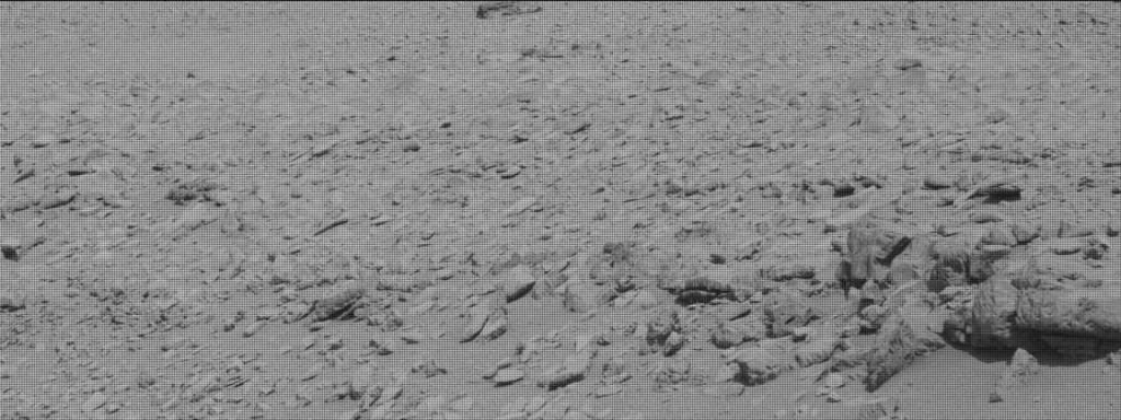 NASA's Mars rover Curiosity acquired this image using its Mast Camera (Mastcam) on Sol 315