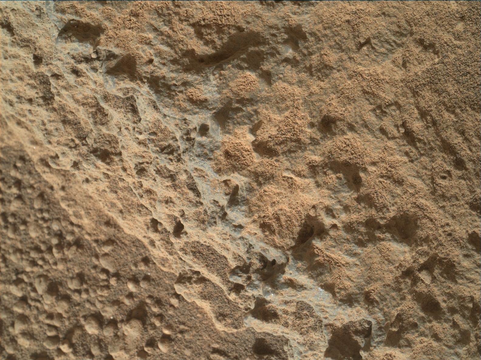 Nasa's Mars rover Curiosity acquired this image using its Mars Hand Lens Imager (MAHLI) on Sol 324